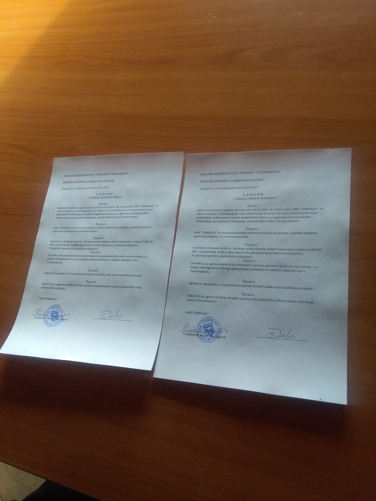 Novi sponzorski ugovori !